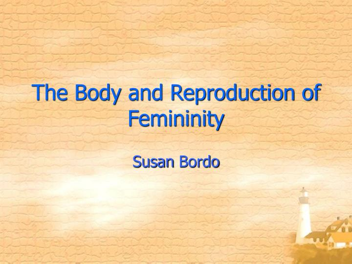 an introduction to the analysis of femininity in homosexuals