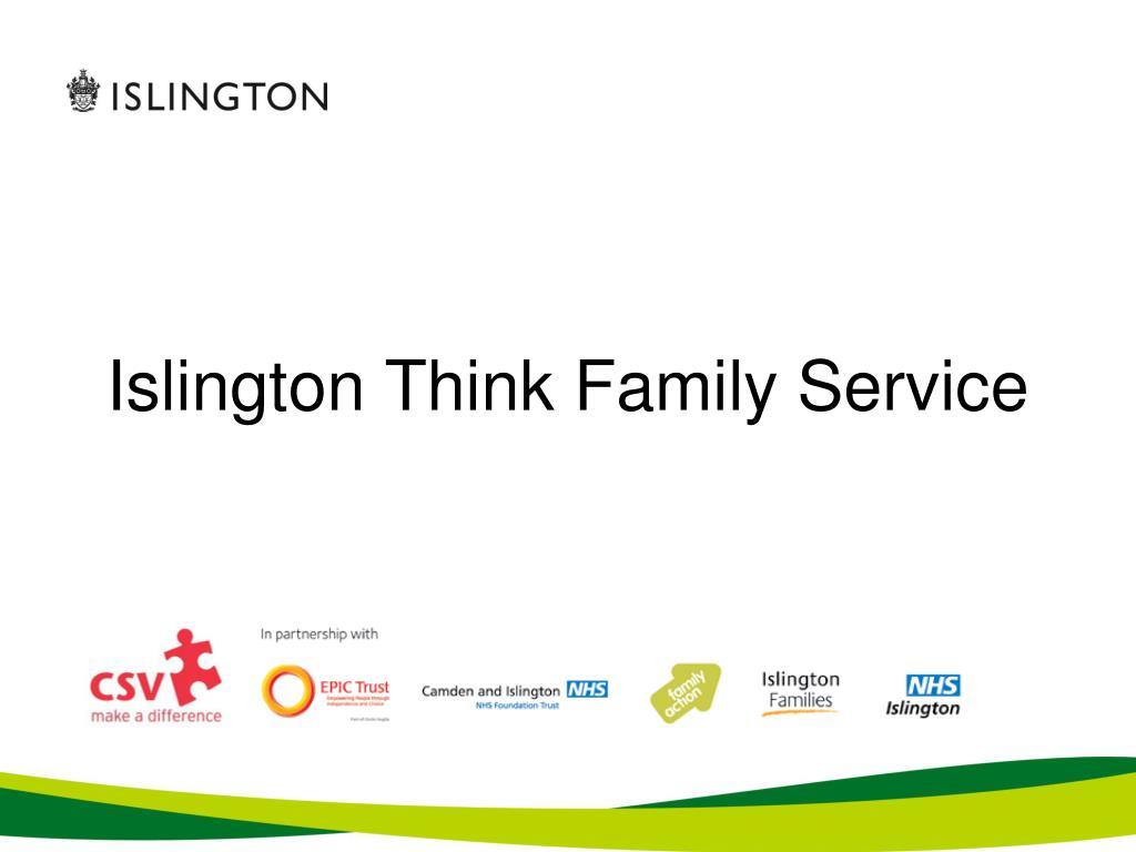 Islington Think Family Service
