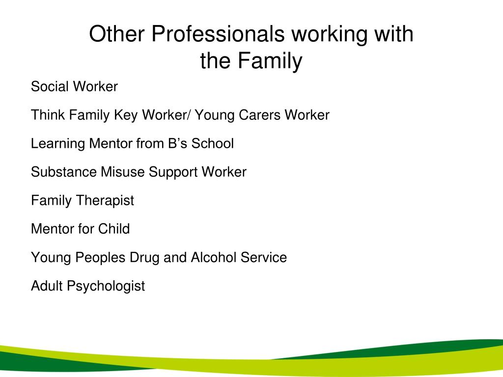 Other Professionals working with