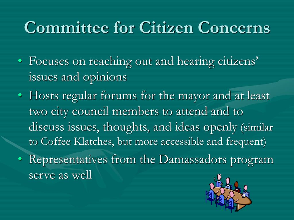 Committee for Citizen Concerns
