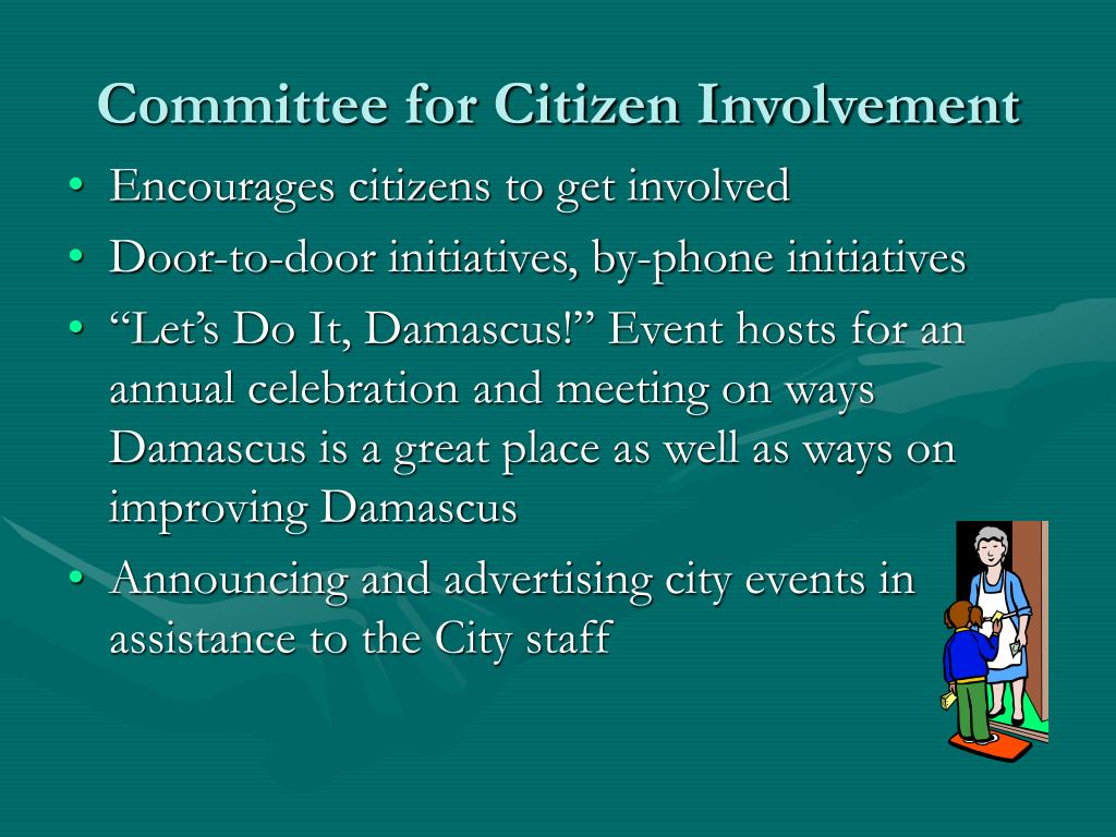 Committee for Citizen Involvement