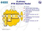 g ptneq ptn domain model