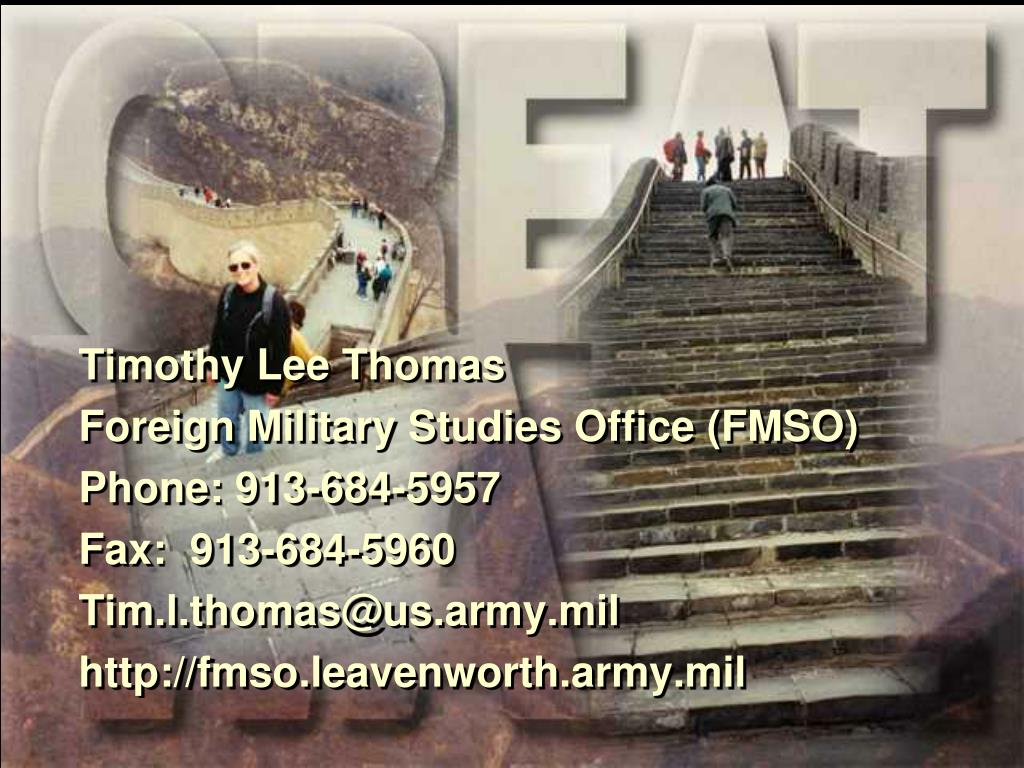 Timothy Lee Thomas