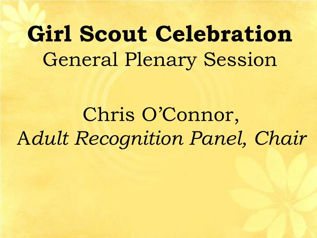 Girl Scout Celebration