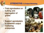 strengths 5 output marketing