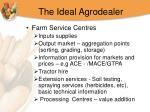 the ideal agrodealer
