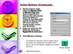 action buttons continued