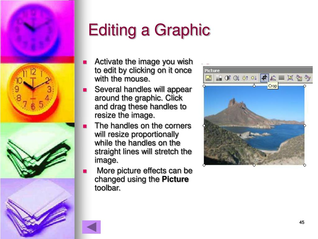 Editing a Graphic