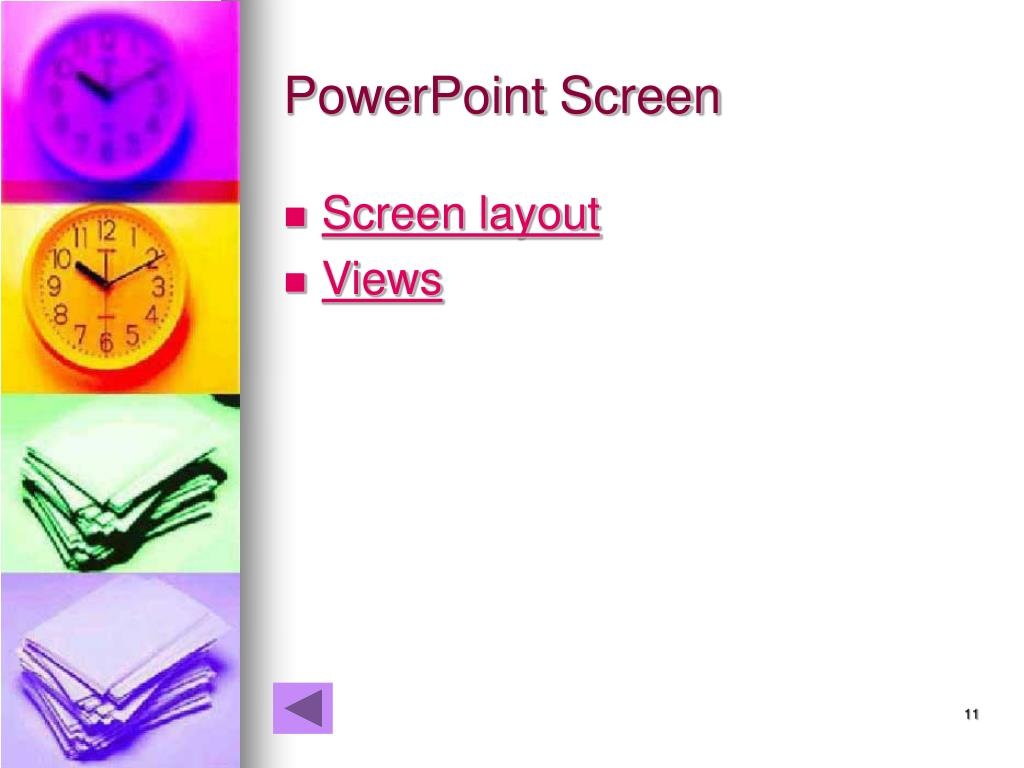 PowerPoint Screen