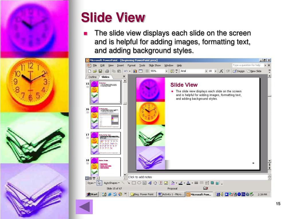 Slide View