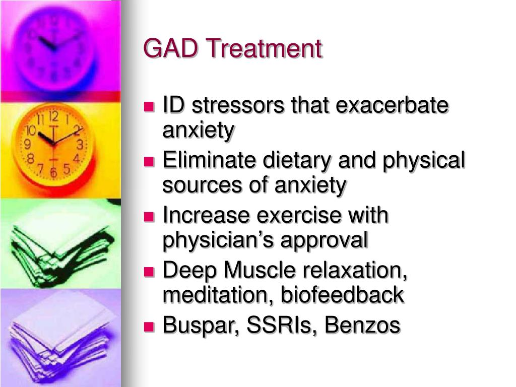 GAD Treatment