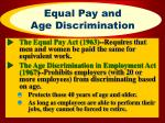equal pay and age discrimination