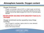 atmosphere hazards oxygen content5