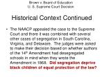historical context continued8