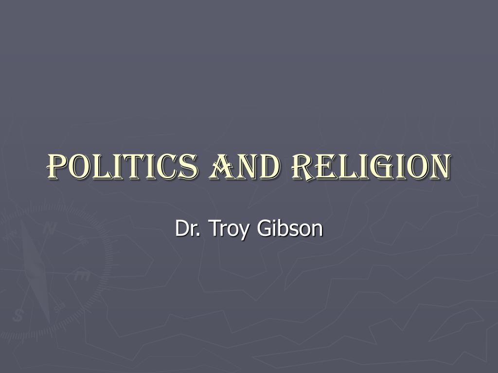 politics and religion l.