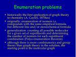 enumeration problems