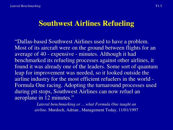 Southwest Airlines Refueling