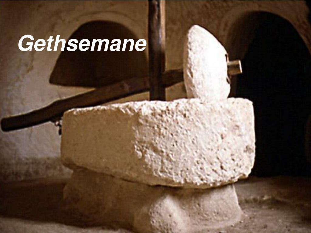 gethsemane l.
