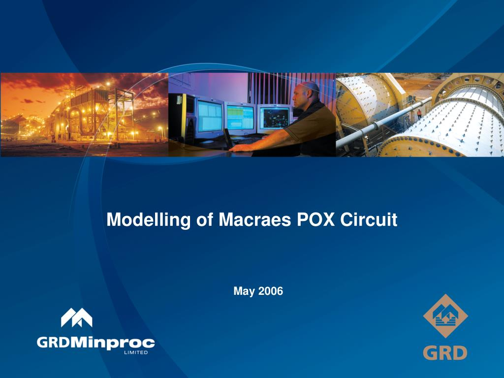 modelling of macraes pox circuit l.