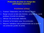 protocoles de prise en charge des pathologies courantes22