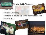 state 4 h chorus