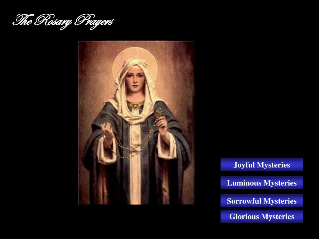 the rosary prayers l.