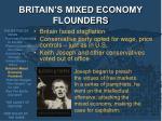 britain s mixed economy flounders
