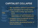 capitalist collapse