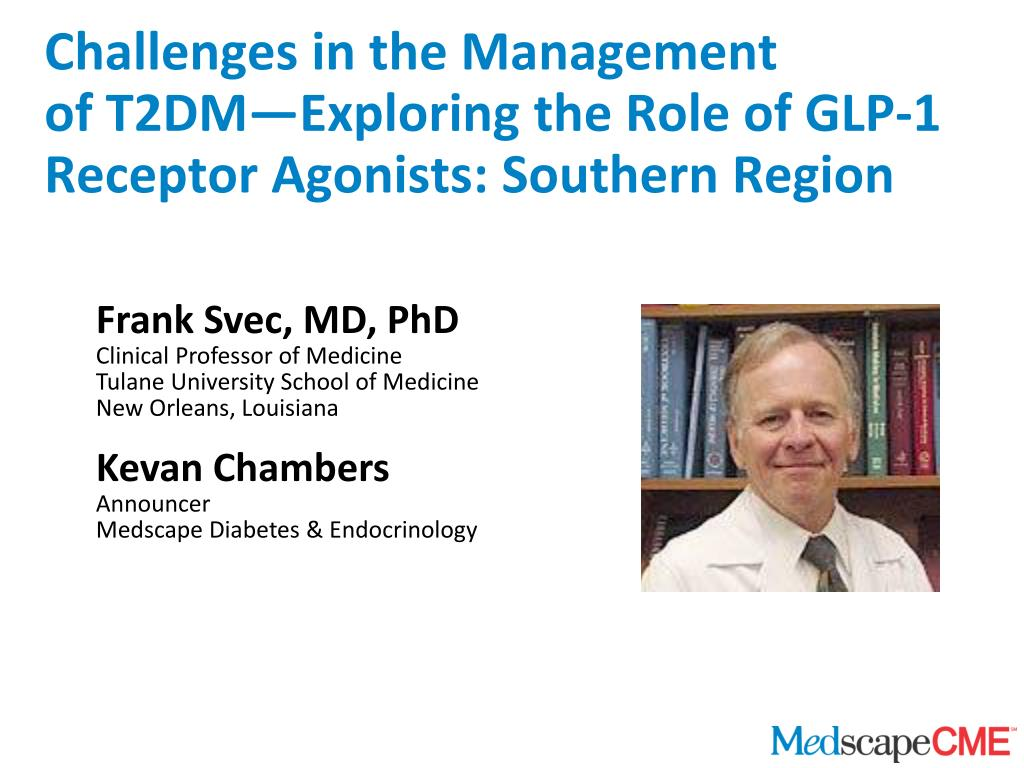 challenges in the management of t2dm exploring the role of glp 1 receptor agonists southern region l.