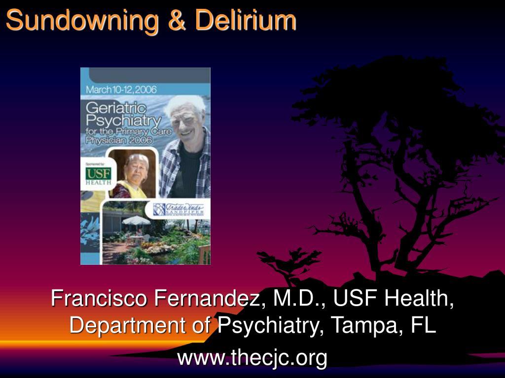 Sundowning & Delirium