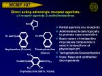 direct acting adrenergic receptor agonists a 1 receptor agonists 2 aralkylimidazolines21