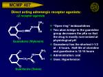 direct acting adrenergic receptor agonists a 2 receptor agonists25