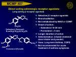 direct acting adrenergic receptor agonists long acting b receptor agonists