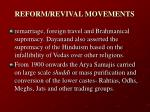 reform revival movements25