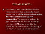 the alliances