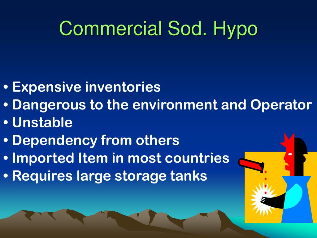 Commercial Sod. Hypo