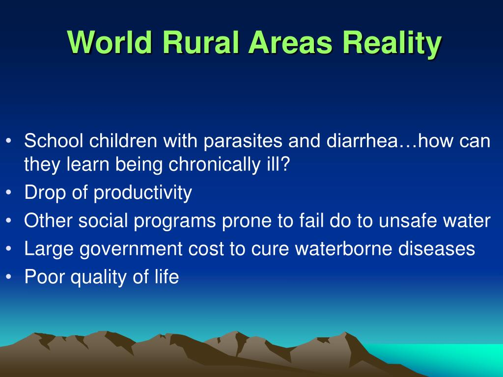 World Rural Areas Reality