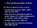 3 net cardiovascular actions51