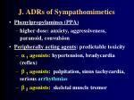 j adrs of sympathomimetics73