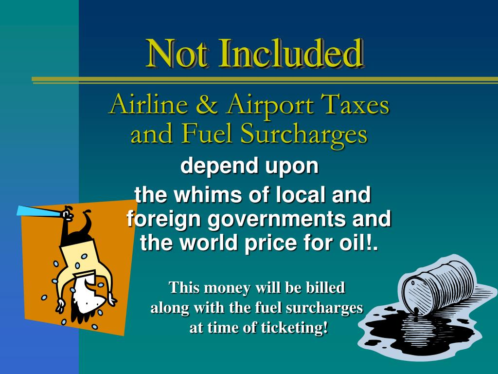 Airline & Airport Taxes