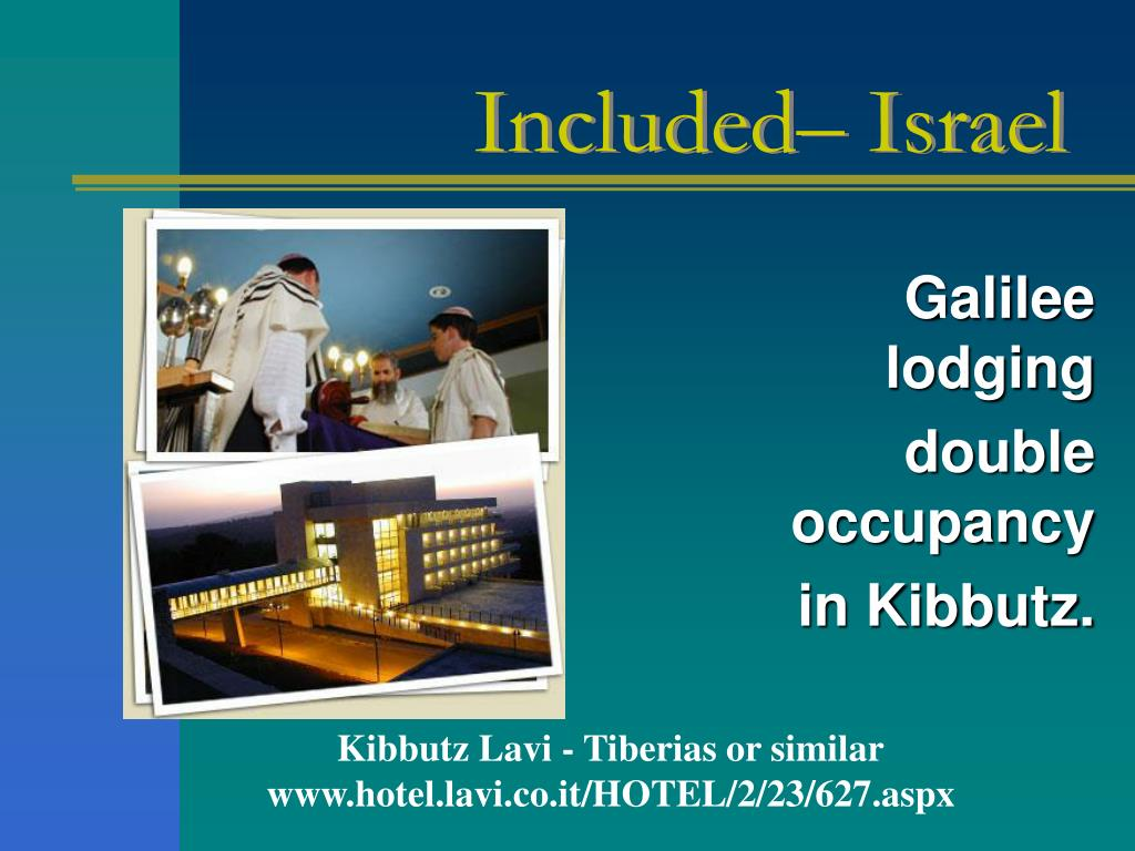 Included– Israel