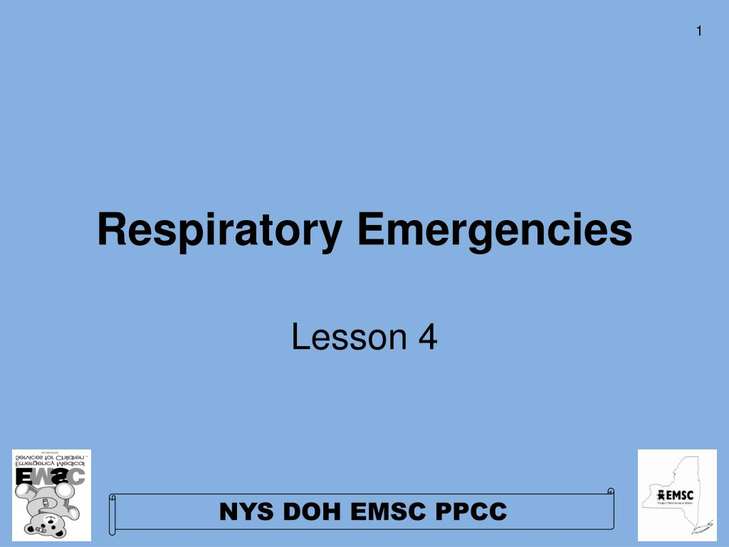 respiratory emergencies l.
