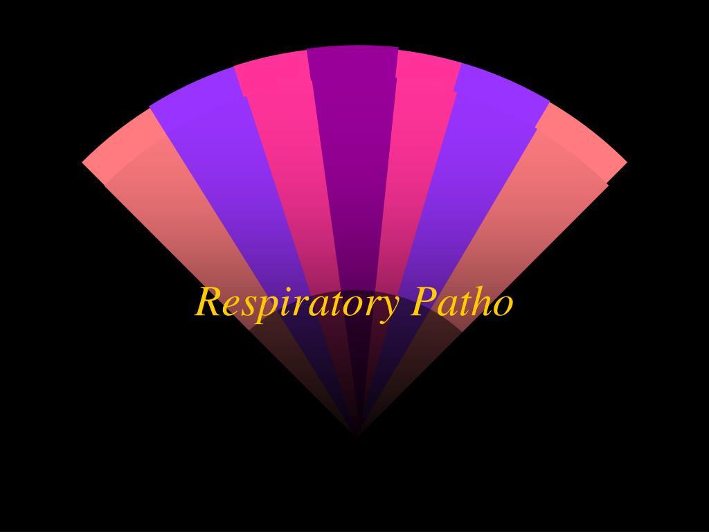 respiratory patho l.