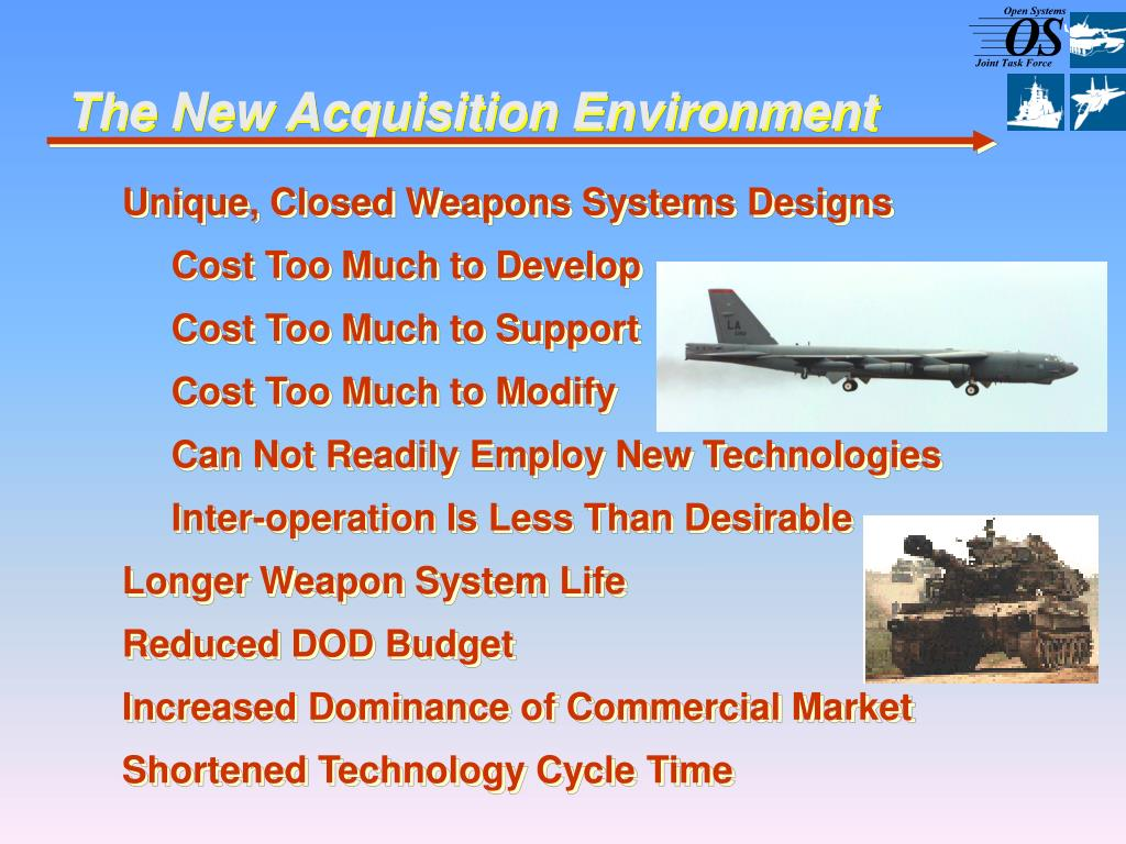 Unique, Closed Weapons Systems Designs