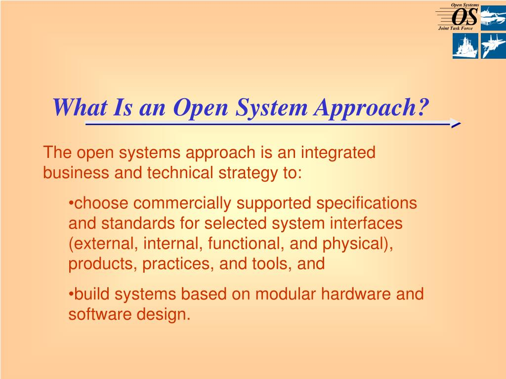 What Is an Open System Approach?