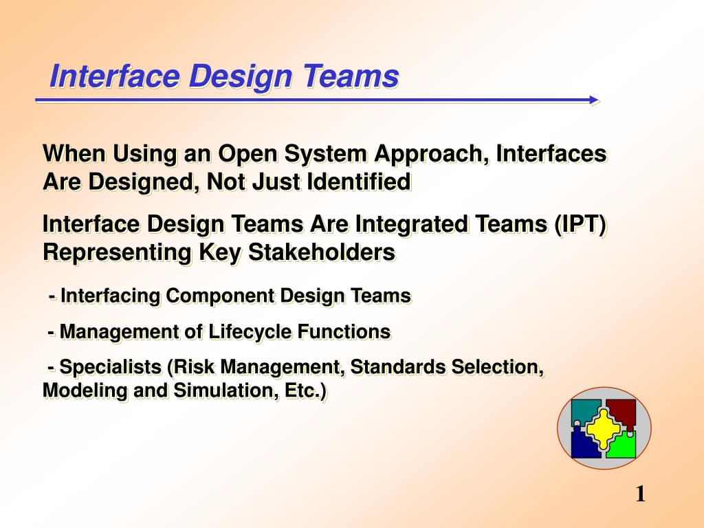 Interface Design Teams