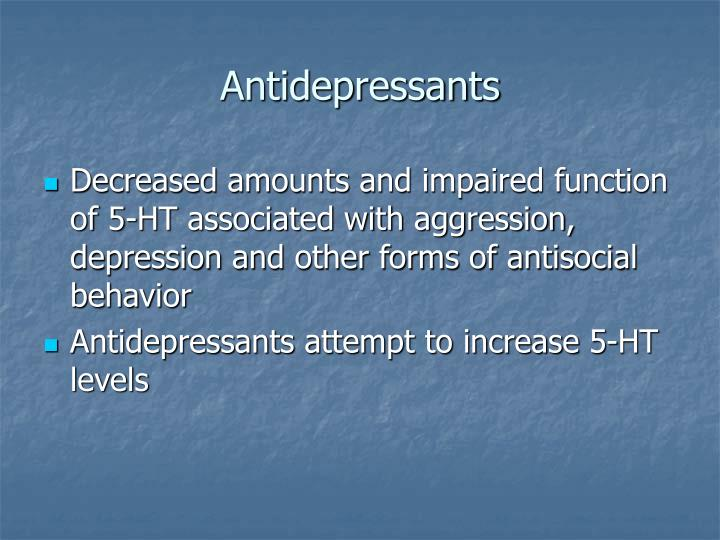 depression and anti social behavior The association of antisocial behavior and depressive symptoms between partners and risk for aggression in romantic relationships hyoun.
