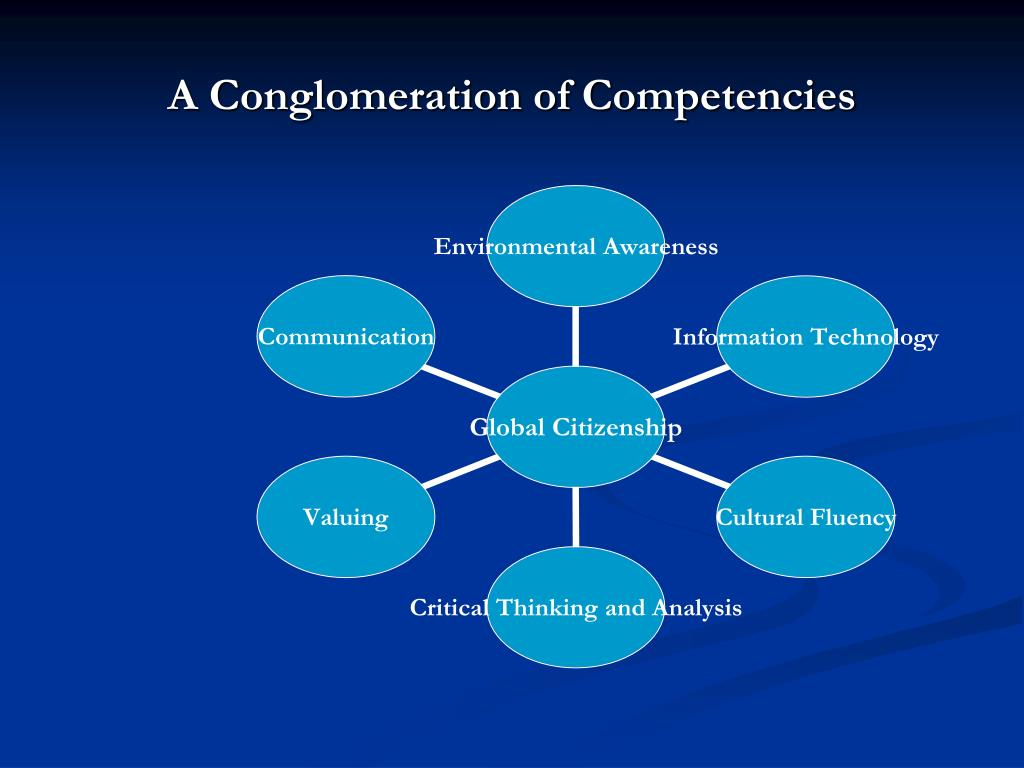 A Conglomeration of Competencies