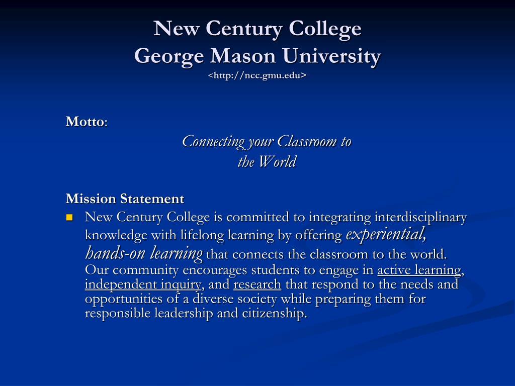 New Century College