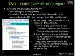t o quick example to compare
